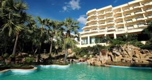 Garden sea view resort budget hotels Naklua
