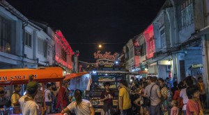 Phuket nightlife areas - Phuket town