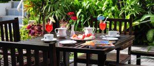 Garden terrace VC hotel