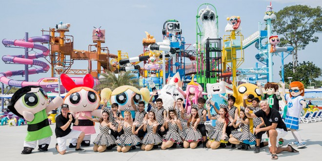CARTOON-NETWORK-AMAZONE-Waterpark Pattaya1