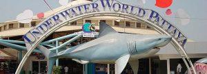 Underwater world pattaya entrance