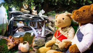 teddy bear family attraction Pattaya
