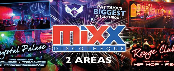 Mixx Discotheque Pattaya walking street
