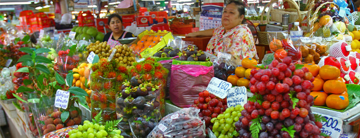 Bangkok food tasting and markets tour