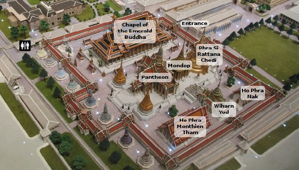 The grand palace layout