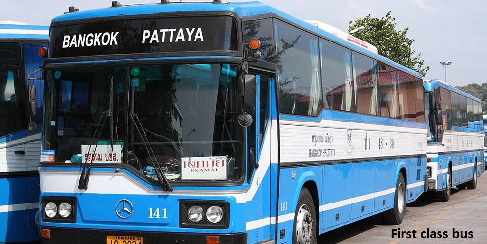 Bangkok to Pattaya first class bus