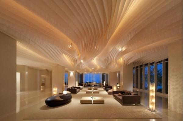 Hilton hotel in pattaya lobby
