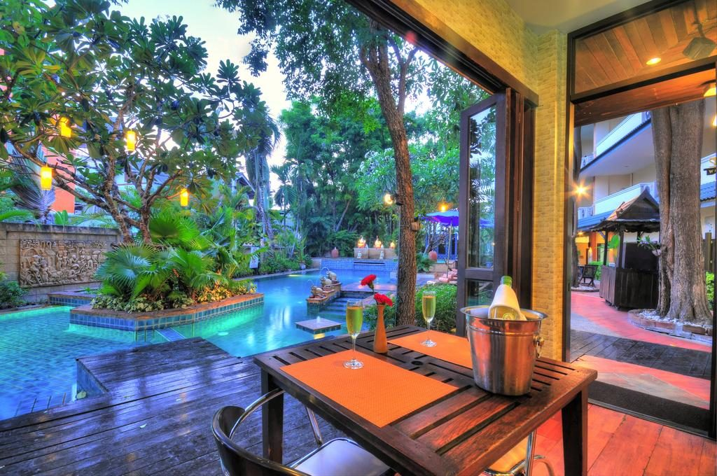 Citin garden resort Pattaya cheap hotels